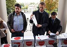 Суд оставил без рассмотрения четыре иска Навального по выборам мэра