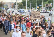 Студенческий протест в Минске: десятки задержанных