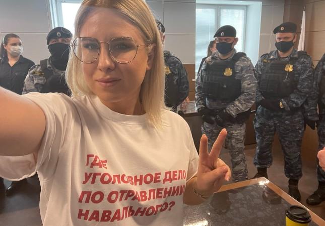 Любовь Соболь покинула Россию